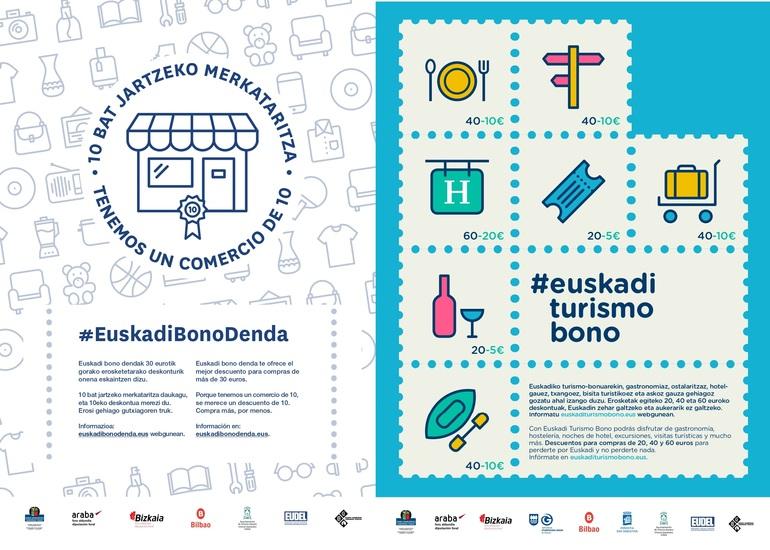 Los bonos turismo y comercio inyectarán 8,7 millones en el mercado para revitalizar los sectores más castigados por la crisis y contribuir a activar el consumo en las familias